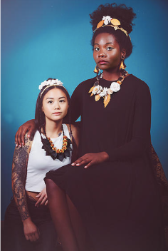 Jewelry: Sara Amrhein Photographer: Dorin Valisescu Hair: Anna Rose